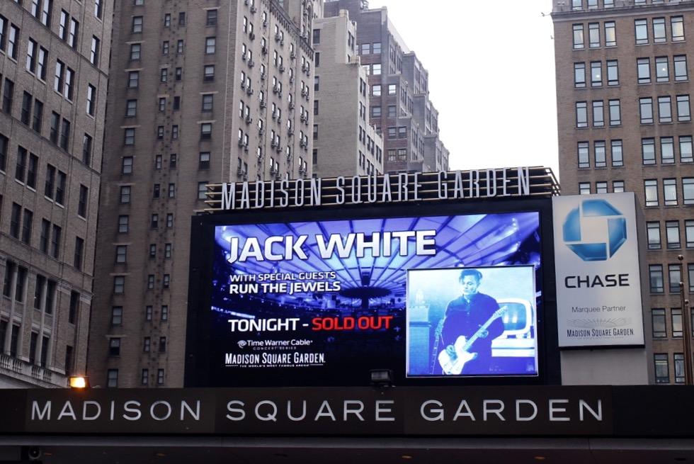 Live Madison Square Garden Broadcast Tonight Jack White