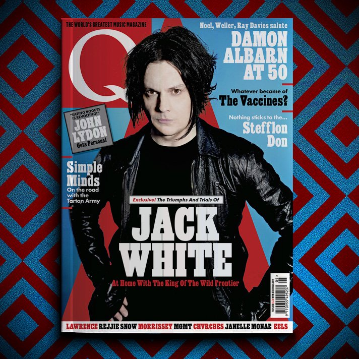 JACK WHITE Q MAGAZINE COVER OUT MARCH