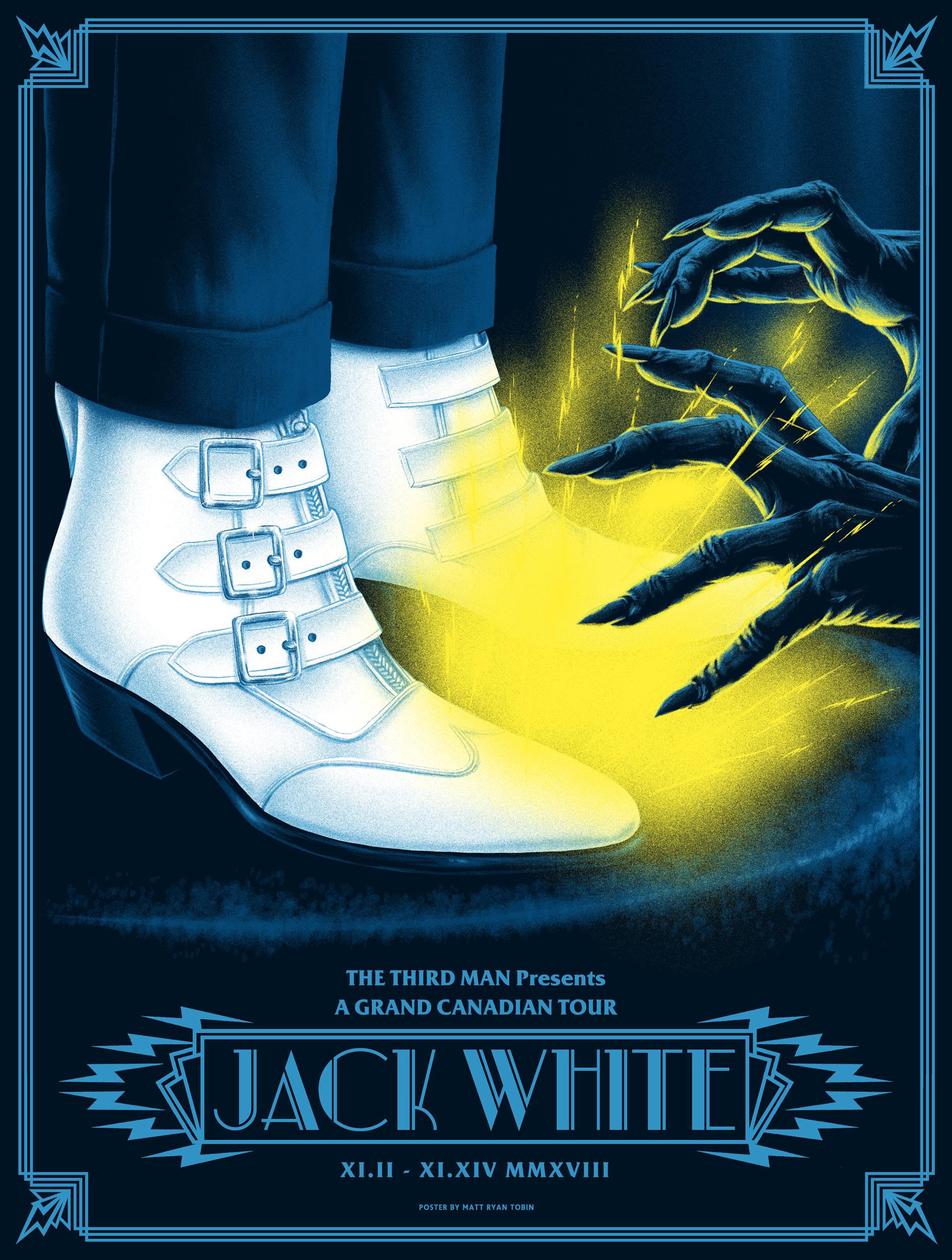 Jack White Canadian Tour 2018 Jack White
